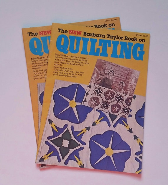 Book Cover Vintage Quilt : Vintage quilting book the new barbara taylor on