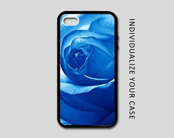 Blue Rose iPhone Case, Flower iPhone Case, Blue Rose Samsung Galaxy Case, iPhone 6, iPhone 5, iPhone 4, Galaxy S4, Galaxy S5, Galaxy S6