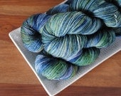 Tom and Sybil on Tendril, Superwash Merino Fingering Weight Hand-dyed Yarn
