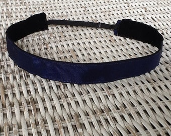 Navy Blue Girls Headband - Girls School Uniform Headband- pick your color