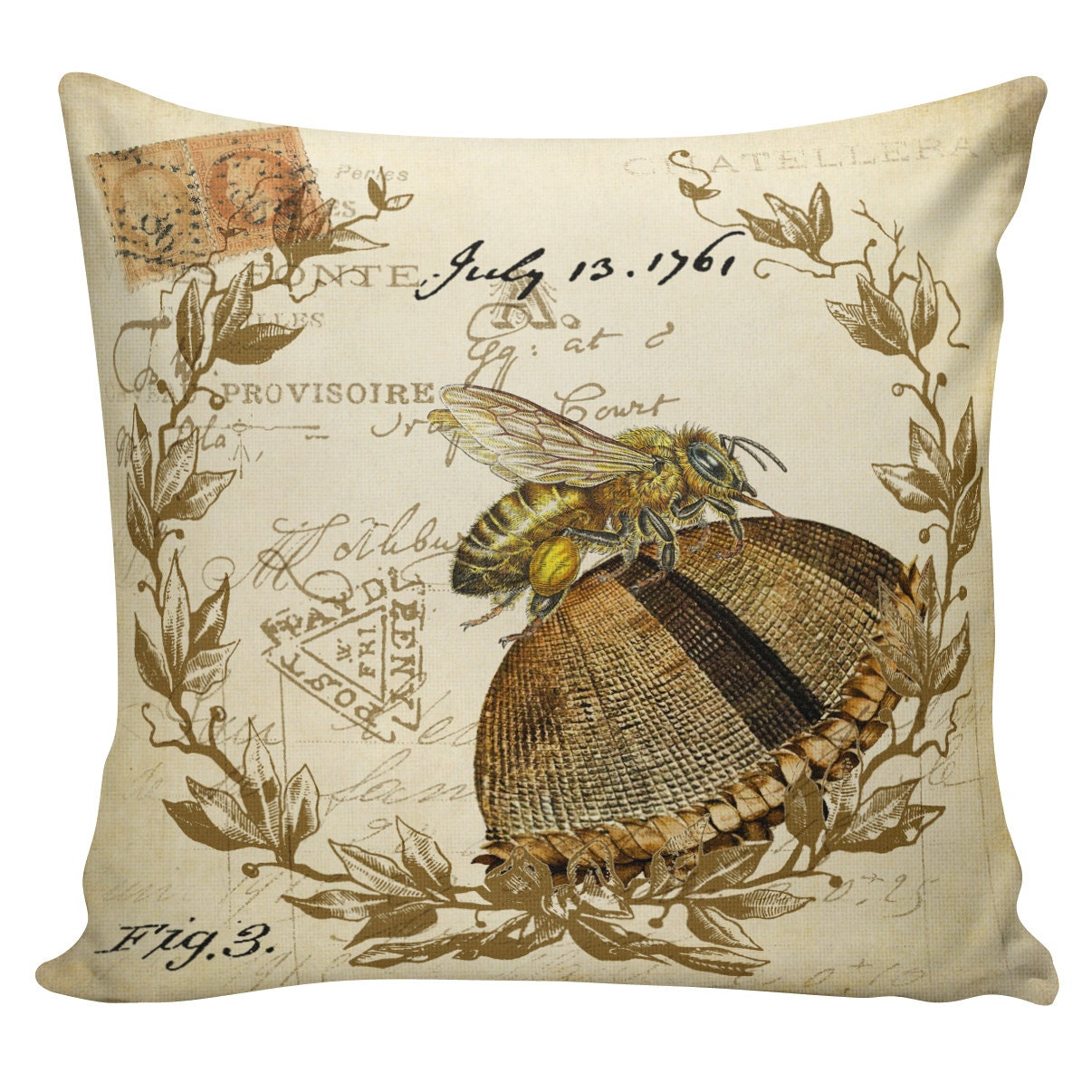 Throw Pillow In French : Chandeliers & Pendant Lights