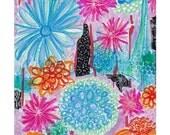 Abstract printable, modern abstract printable, instant wall art, abstract floral, floral abstract, contemporary abstract printable, boho