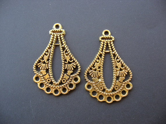 Embossed antique gold chandelier earring findings embossed findings embossed antique gold chandelier earring findings embossed findings antique gold chandelier chandelier findings chandelier earrings from truviolet on aloadofball Choice Image