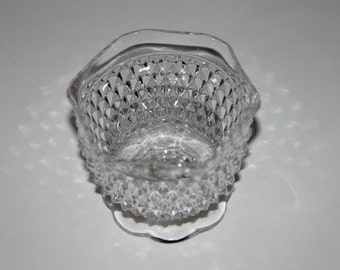 Footed Clear Glass Mint or Candy Dish