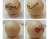 LOVE Calm Ball // In Stock Ready to Ship // Valentine Gift // Waldorf Education // Empowerment