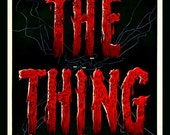 Fridge Magnet The Thing from Another World natural or supernatural horror film movie poster image