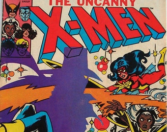 Vintage Comic Book, The Uncanny X-Men Marvel Comics Group  No. 148, August 1981