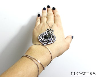 Hand Chain, Crystal Bracelet