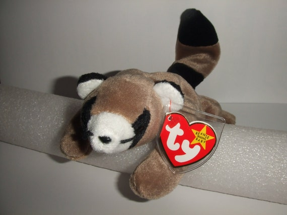ringo the raccoon beanie babies collection by talisonstreasures. Black Bedroom Furniture Sets. Home Design Ideas