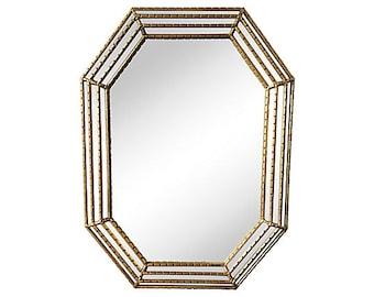 Octagonal Tiered Mirror