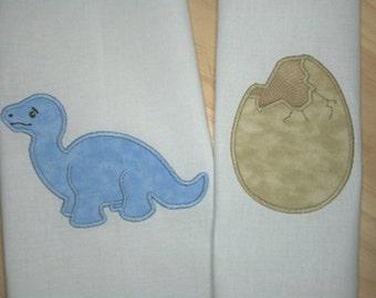 Baby Dinosaur Applique Design (Includes bonus design)