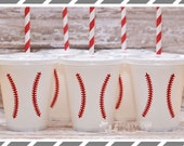 Baseball Birthday Party-Kids Party Cups-Set of 10