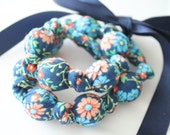 Fabric Necklace,Teething Necklace, Chomping Necklace, Nursing Necklace - Spring flowers