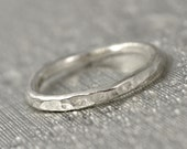 Thin Sterling Band