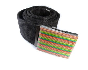 Skateboard Belt, Skateboard Clothing, Skate Buckle, Belt Buckle, Recycled Skateboards, Handmade Belt