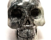 Picasso Jasper Crystal Skull Giant Sized Hand Carved 4 inches long! Increase Trust, Nurturing Energies!