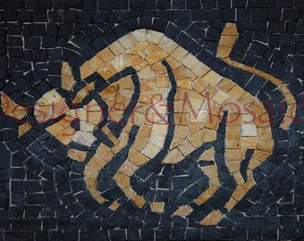kit mosaic zodiac sign lBul 25x21 cm