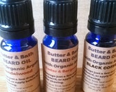 Beard Oil Sampler Set, 3 x 10ml Beard Care Set, Men's Gift Set, Valentine's Gift Idea for Him, Vegan Beard Oils, Natural Pre - Shave Oil Set
