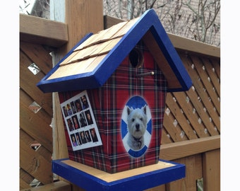 Custom Scottish Terrier Birdhouse