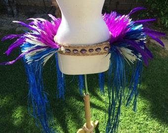 Purple and blue hip hei