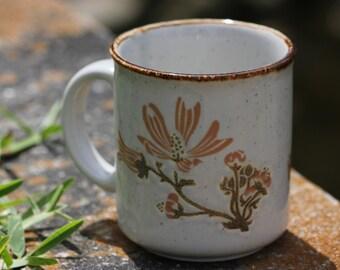 Authentic Vintage Staffordshire Mug, Rustic Decor