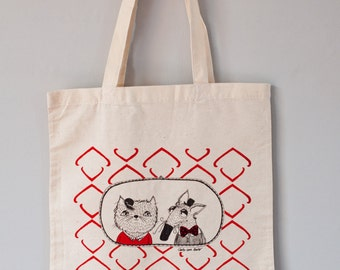 Screen Printing Shopper Bag