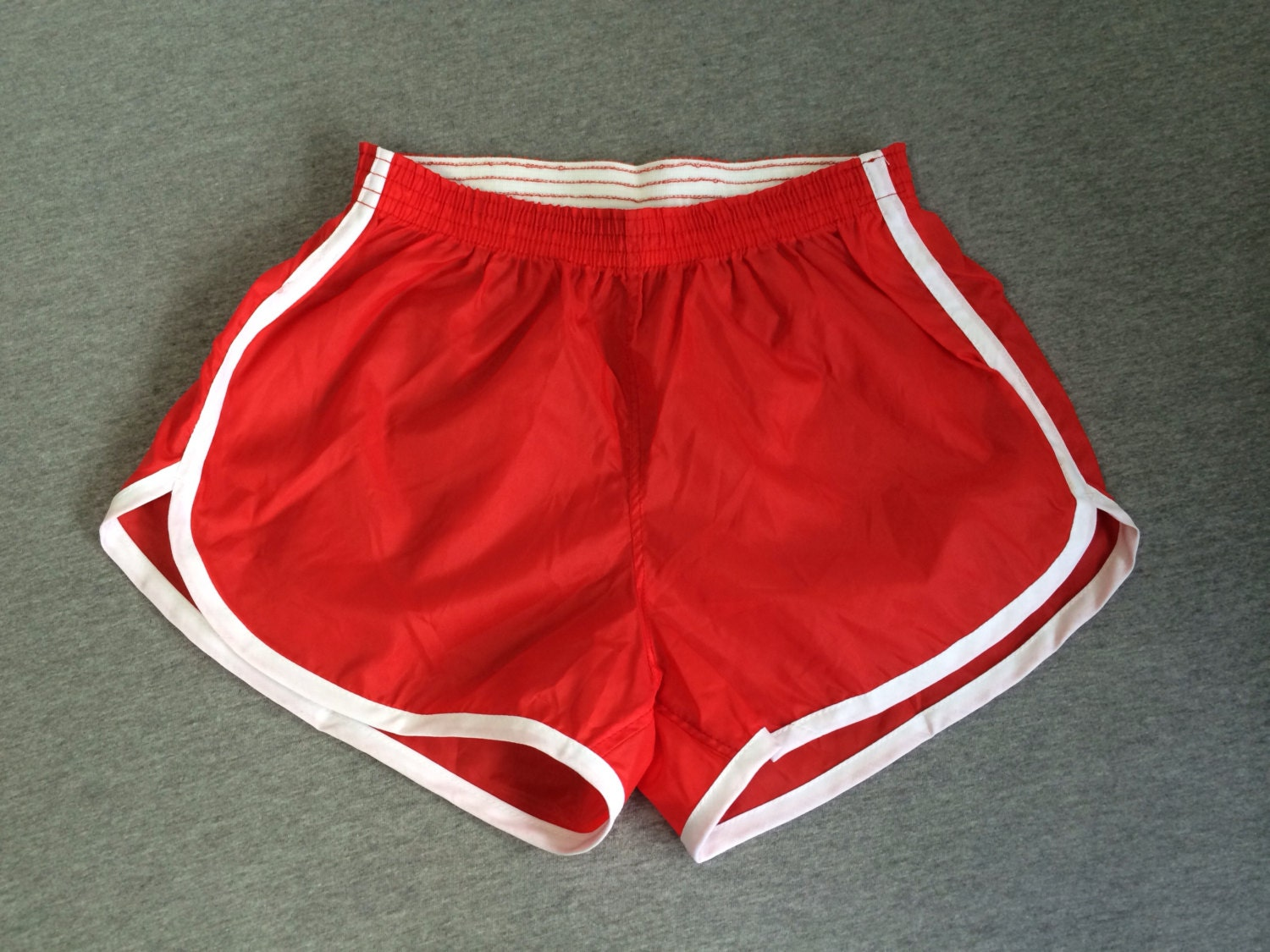 80'S NYLON SHORTS VINTAGE ORIGINALS/ UNWORN DEADSTOCK HIGH-WAISTED ...