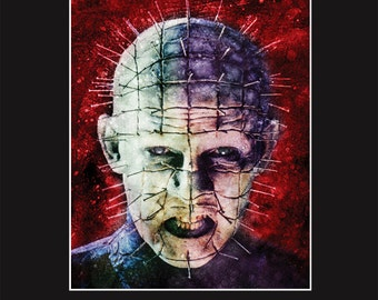 Pinhead 11X14 Matted Print - Signed by Artist Joel Robinson