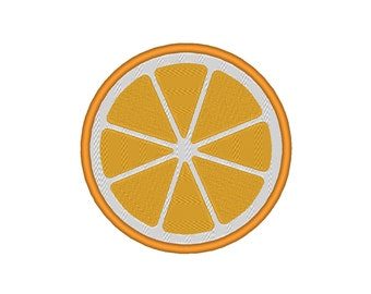 Orange Citrus Fruit Lime Lemon Grapefruit Embroidery Machine Design