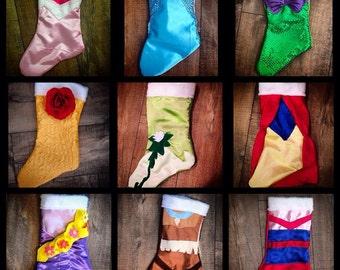 Custom Disney Princess Stockings!!!!