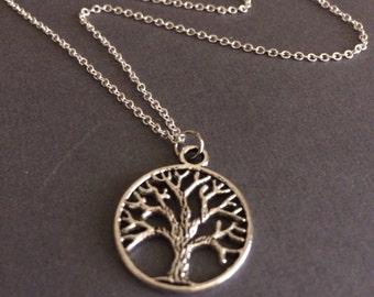 Tree of life necklace, tree of life  jewlery, family necklace, family tree jewlery