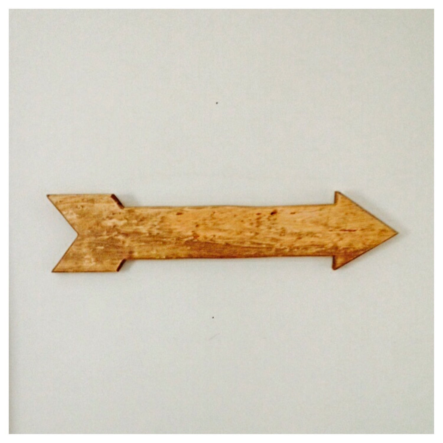 Arrows For Wall Decor : Wooden arrow rustic wall decor wedding home by