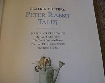 Beatrix Potter's Peter Rabbit Tales 1989 Paperback Printed in England  B7