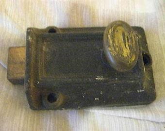 Vintage Dead Lock 3 1/2 x 2 3/4 CL18-4