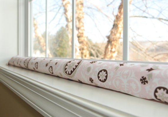Extra long or short door draft stopper cover custom by for Door wind stopper