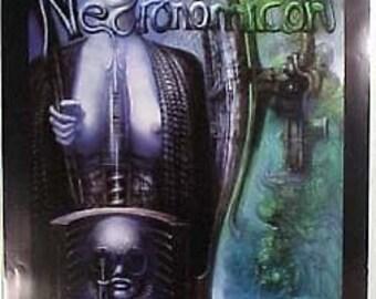 HR Giger Necronomicon Art Poster