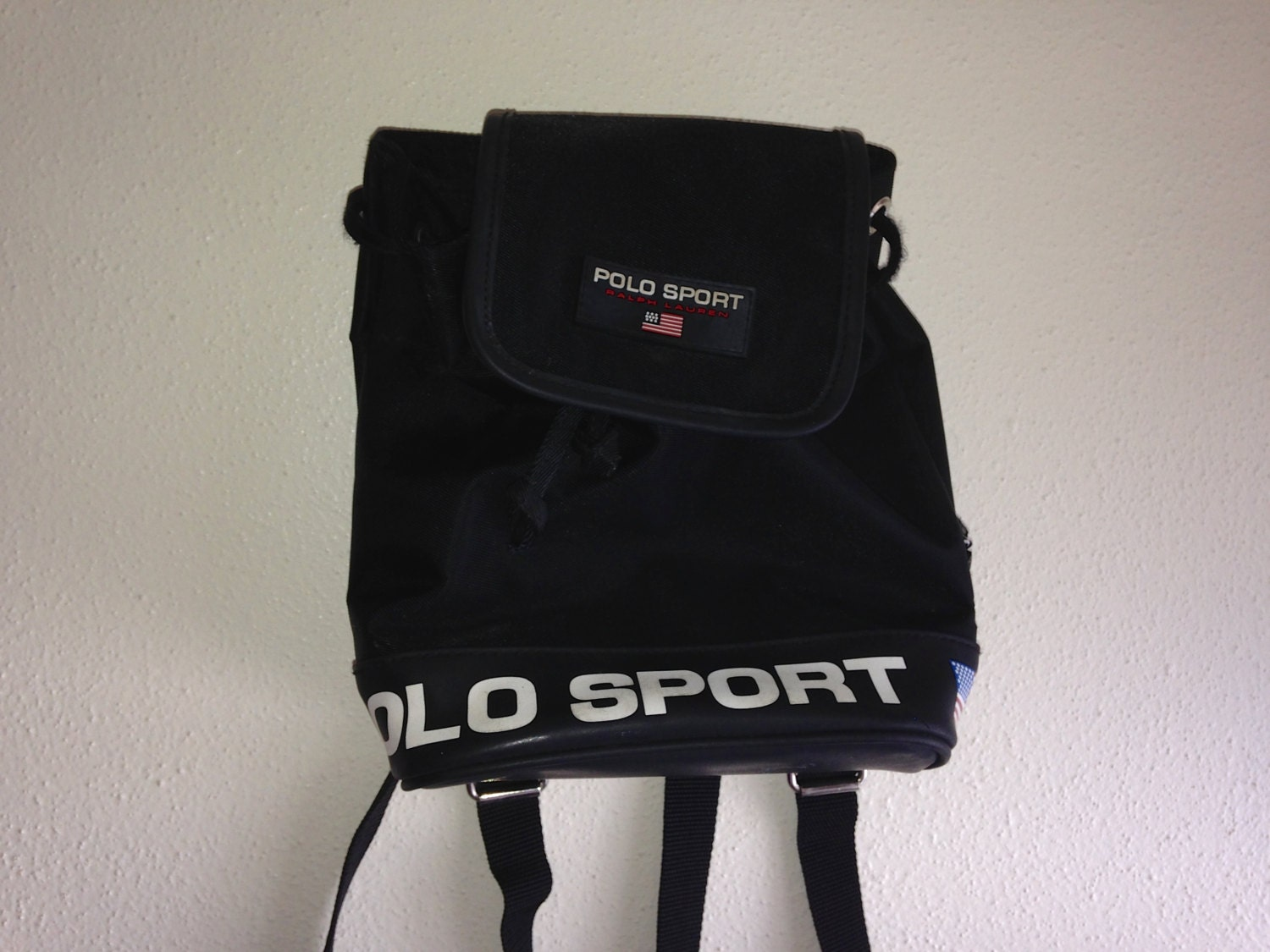 black ralph lauren polo sport mini backpack by sadgurlclothes