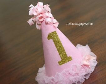 Baby First Birthday Hat, Custom Birthday Hat