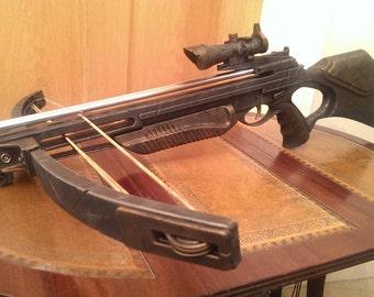 STEAMPUNK gun, Crossbow,  Nerf style dart toy gun ! For cosplay