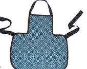 Kids Teal/Brown Apron