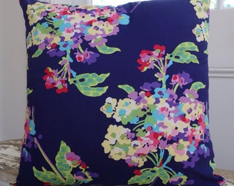 Amy Butler for Rowan Fabrics Love Water Bouquet Midnight 45cm Cushion Cover/pillow