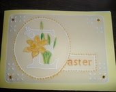 Daffodil Hand made Easter Cards.