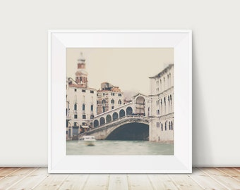 venice photograph rialto bridge photograph grand canal photograph venice print venice decor italy photograph travel photography