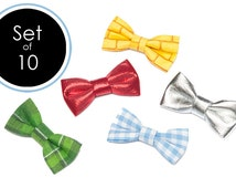 Wizard of Oz Party Bow Tie SET of 10 WOO Bow Ties