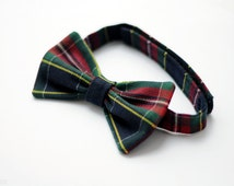 Popular Items For Red Green Bow Tie On Etsy