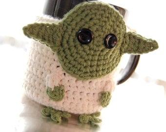 Yoda Coffee Mug Cozy ~