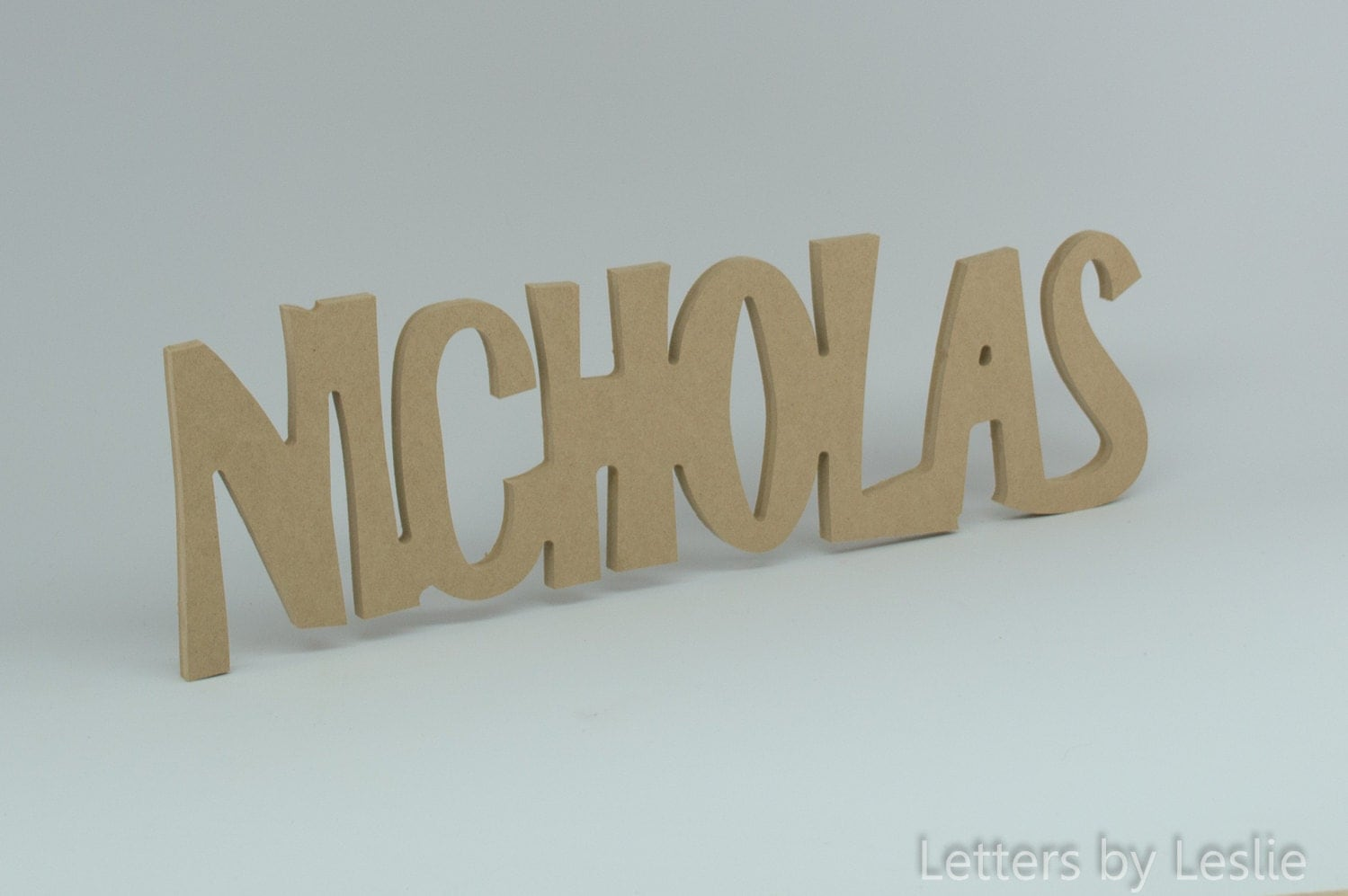 Personalized wooden name signs children39s wall names diy for Letter name signs