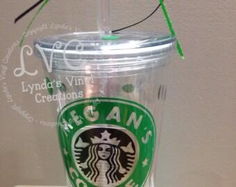 Starbucks Inspired Coffee Tumbler