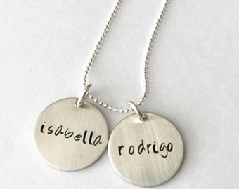 Personalized Kids Names' / Necklace for Mom / Necklace with Kid's Names