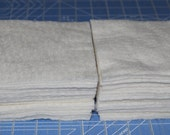 5x5 Warm and Natural Rag Quilt Batting Square